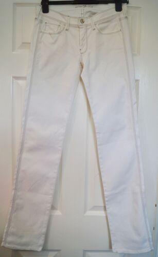 da misto dritta For con bianco donna cotone 27 Mankind in 7 All donna gamba Jeans 40UdIWf