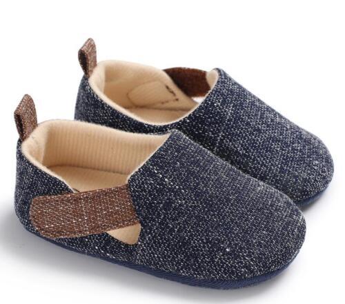 Newborn Baby Boy Pram Shoes Infant Toddler PreWalker Comfortable Trainers 0-18 M