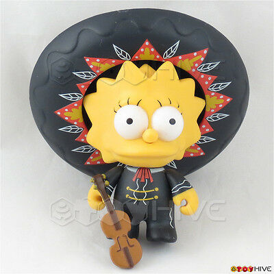 Kidrobot Simpsons Mariachi Lisa series 2 complete figure and accessories