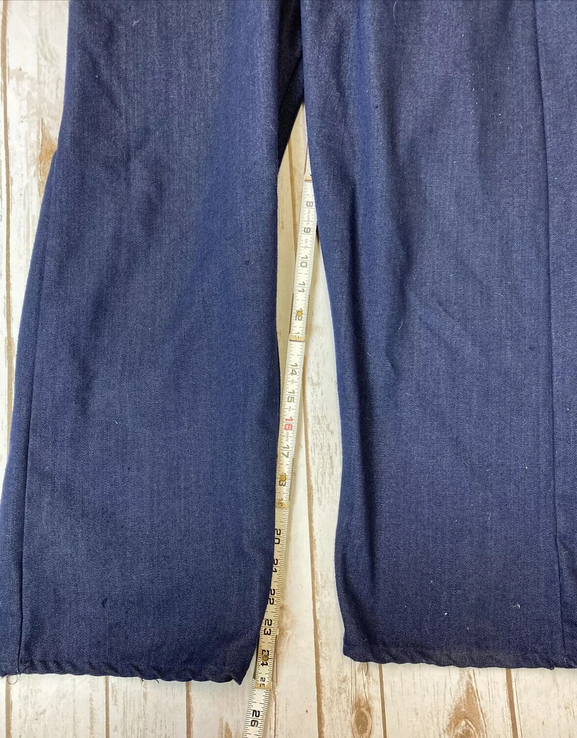 VTG ToughSkins Sears Denim Coveralls Sz 40S Workw… - image 11
