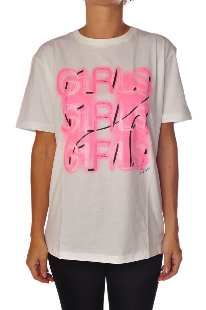 Gaëlle Paris - Topwear-T-shirts - Woman - Weiß - 878018C183713