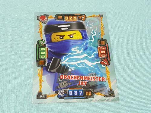 LEGO ® Ninjago ™ série 4 trading card XXL carte-dragon Maître Jay limitatifs