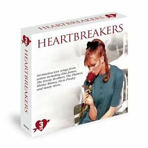 HEARTBREAKERS-NEW-3-CD-BOX-SET-60-TIMELESS-LOVE-SONGS-HITS-OF-THE-50-039-s-60-039-s
