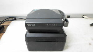 Vintage Polaroid Spectra AV Camera w/ Case