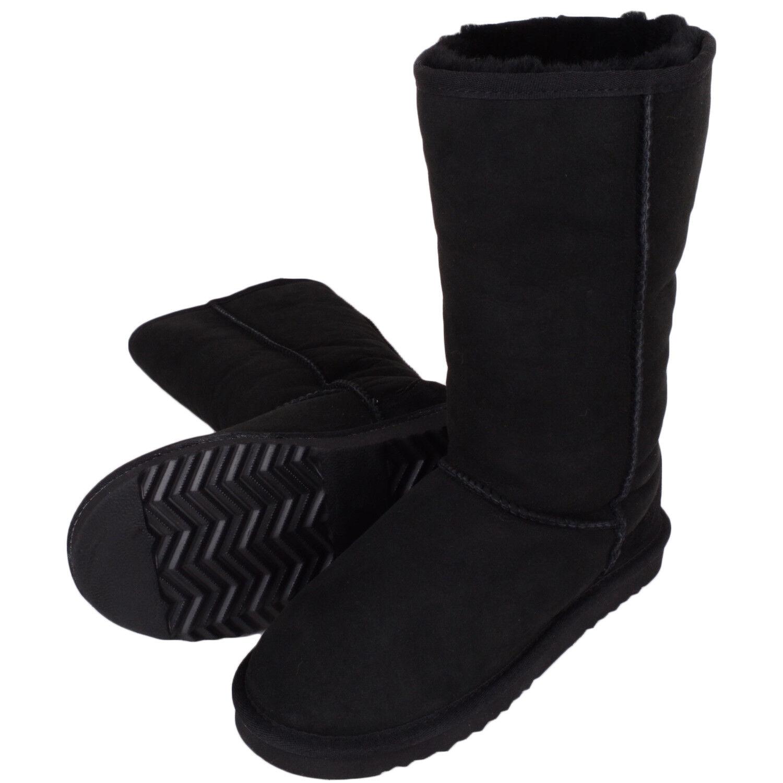 Mujer / Mujer COMPLETO Lujo Piel De Oveja Botas de invierno/Botines/Zapatos
