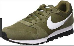 flota Destilar secundario  Nike - Baskets MD Runner 2 verte kaki et blanc, taille 46 | eBay