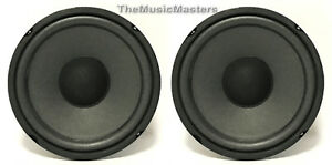 Pair-5-034-Home-Audio-WOOFERS-Speaker-Cabinet-Enclosure-Stereo-System-Replacements