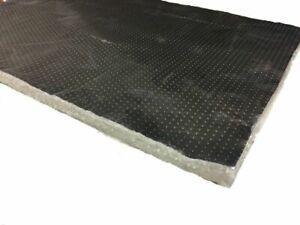 40x40 cm Hitzeschutzfolie Hitzematte Hitzeplatte selbstklebend Kfz Kat 4mm 950°C