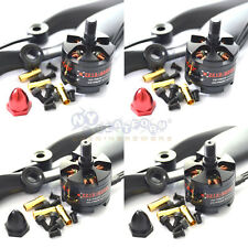 2 Pair EMAX MT2213 KV935 CW CCW Brushless Motor (4 pcs) plus Props 8 pcs Combo