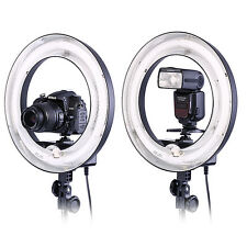 """Neewer Camera Photo 14""""Outer 10""""Inner 400W 5500K Ring Fluorescent Flash Light"""
