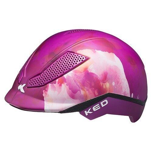 KED Casco Pina Rosa//Viola casco per bicicletta in un casco 2018-MONTALA casco
