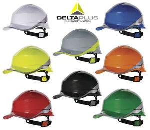 Schutzhelm-DELTA-PLUS-DIAMOND-V-Einstellbar-Arbeitshelm-Bauhelm-Arbeitschutzhelm