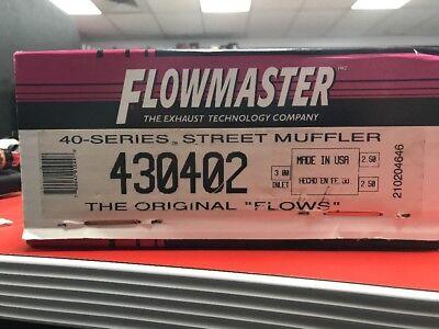 Exhaust Muffler-40 Series TM Flowmaster 430402