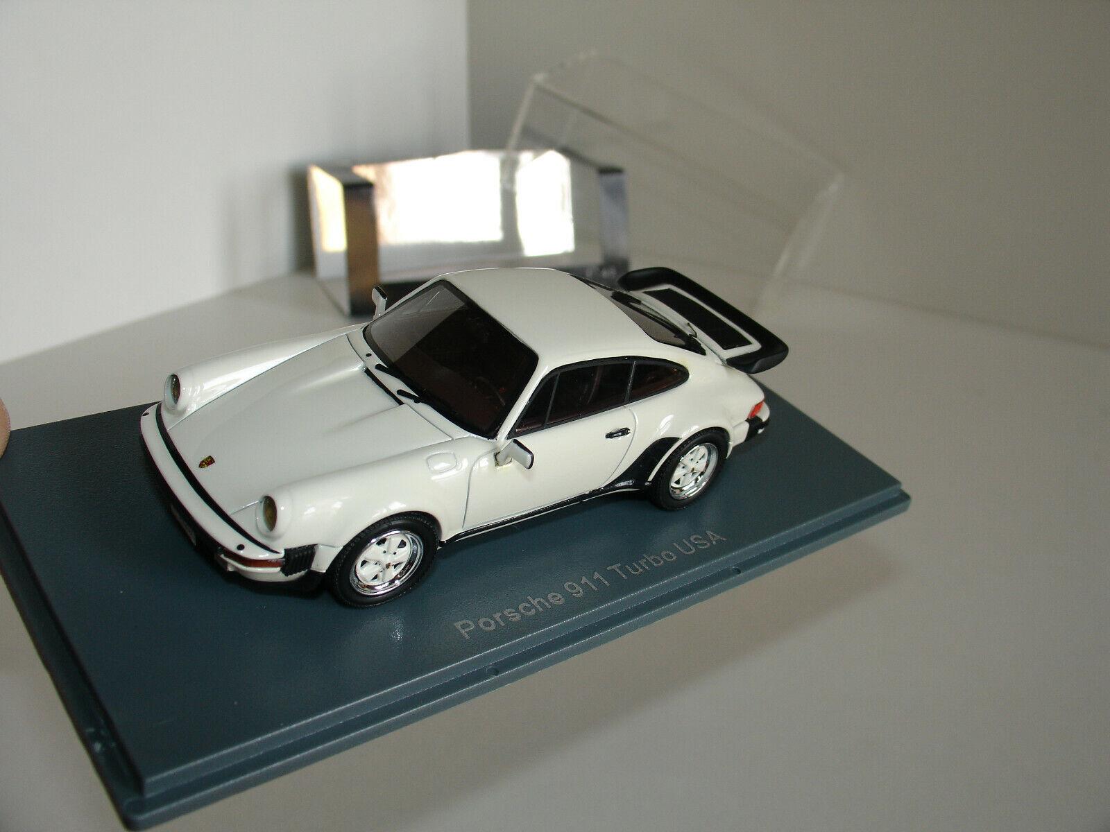 1   43 nuevo Porsche 911 Turbo usa blanco