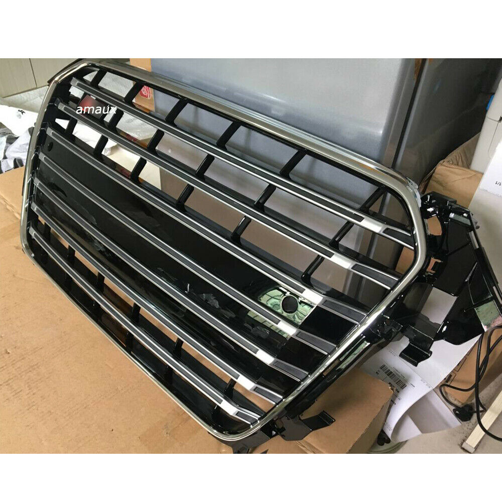 Fit For Audi A4 B8.5 S4 Style 2013-2015 Mesh Grill Front