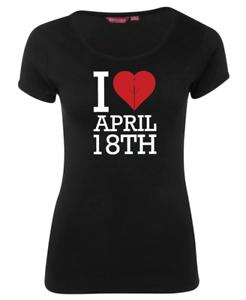 Women/'s April 18th Shirt