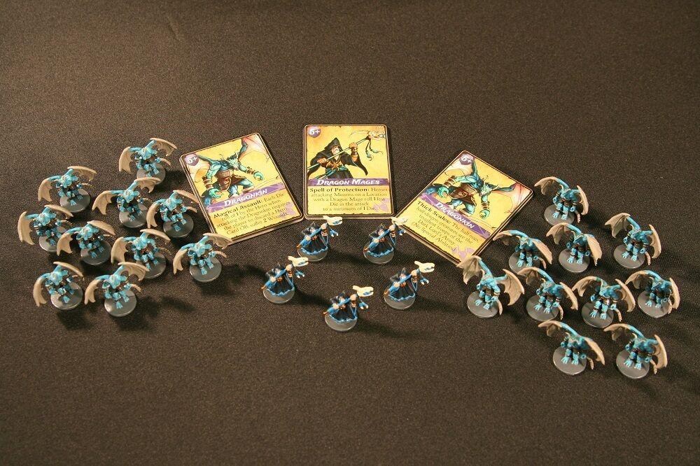 Defenders of the Realm  Dragon  Minion Expansion peint  articles de nouveauté