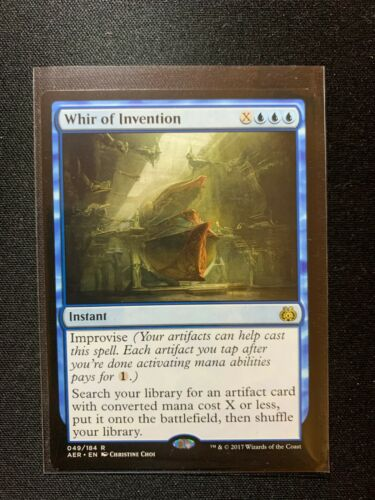 Whir of Invention 049//184 Aether Revolt NM MTG Magic Card