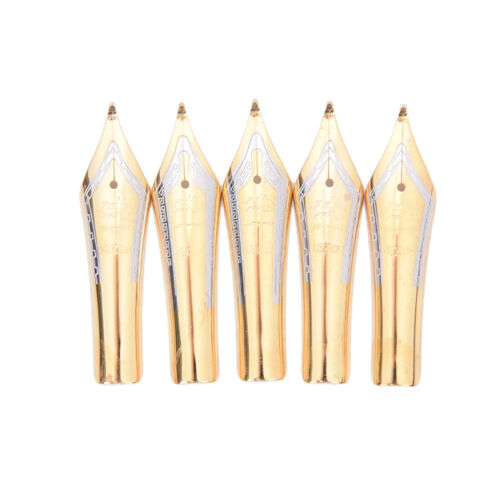 1pc x450 silver gold fountain pen curved tip diy for jinhao CJ