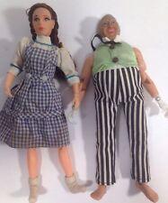 Vintage Lot Mego 1972  1973 Wizard of Oz Action Figure Dorothy And Oz D2