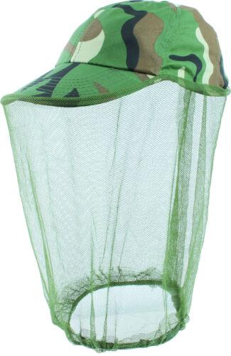 Insektenschutzhut Cappy Kappe Mütze Moskitonetz Kopfnetz Moskito Mückenschleier