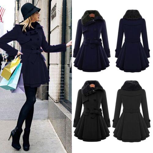 invierno de mujer Gk grueso abrigo delgada de de Chaqueta grueso Abrigo Parka Outwear Largo SAWqPBn1f