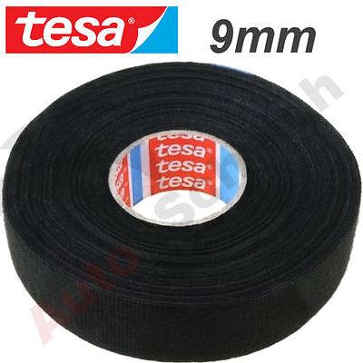1 st Gewebeband; PET-Wolle; 9mm; L:25m; schwarz