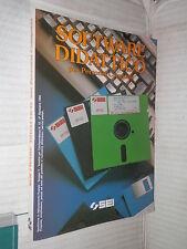 SOFTWARE DIDATTICO Per Personal Computer SEI 1990 scienze informatica libro di