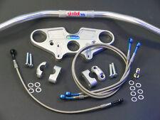 Superbike Lenker Umbau - Kit für SUZUKI RF 600 - R / RF 600 R-  silber eloxiert