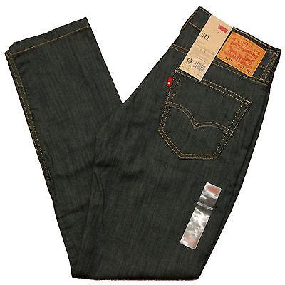 Levis 511 Jeans Skinny 0408 Jean Rinsed Playa Dark Blue Levi's Slim 29 30 32 33