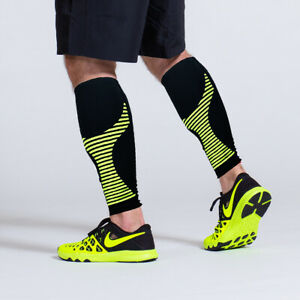c7b185e9ba03e2 Image is loading Calf-Sleeves-Compression-Leg-Support-Sports-Running-Shin-