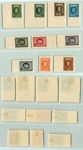 Romania-1926-SC-291-301-mint-imperf-f9764