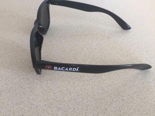 BACARDI RUM PAIR OF BLACK SUNGLASSES SHADES BRAND NEW MANCAVE BAR PUB SUMMER