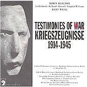 KRIEGSZEUGNISSE-TESTIMONIES-OF-WAR-1914-1945-NEW-CD
