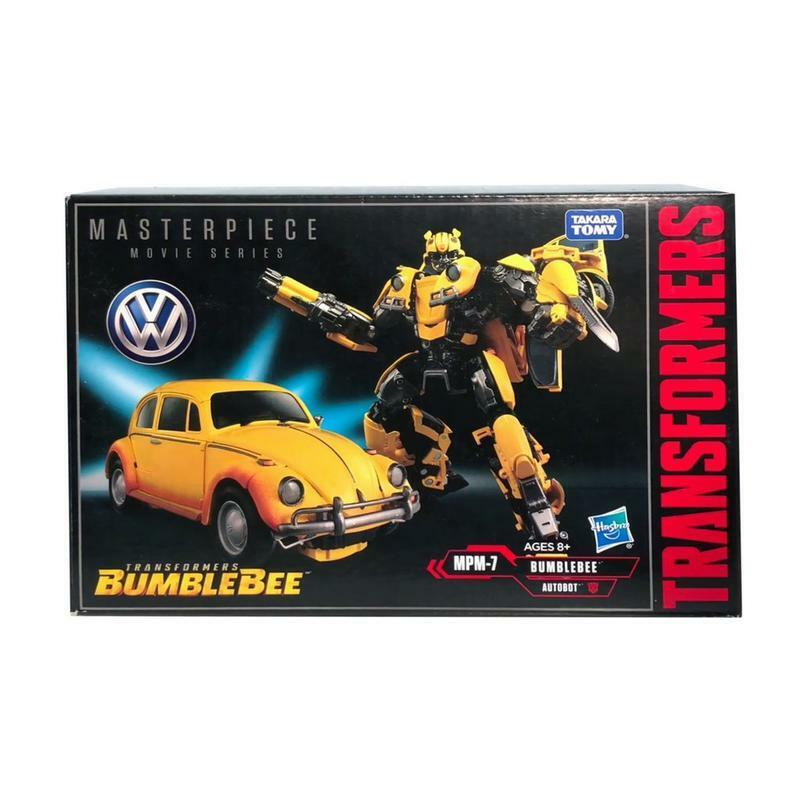 Hasbro Transformers Masterpiece película SERIE MPM 07 VW Beetle Bumblebee Nuevo Rápido