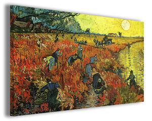 Quadro Vincent Van Gogh vol VIII Quadri famosi Stampe su tela ...