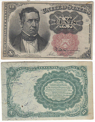 FR-1266 Fractional Currency