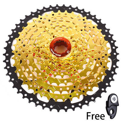 Cycling Bicycle Components & Parts Special Section Bolany Mtb Bike 9 Speed 11-50t Gold Cassette Flywheel Fit Sram Avid Shimano Delaying Senility