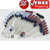 Craftsman 41 Pc Screwdriver Set Phillips And Slotted Tips 41 Piece