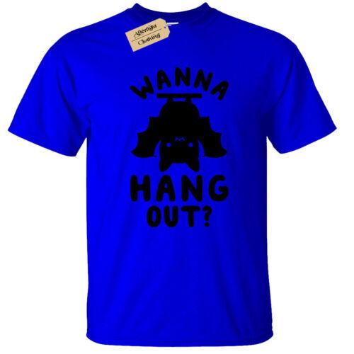 Bambini Ragazzi Ragazze vogliono stare T shirt Divertente Pipistrello Top