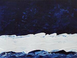 MIDNIGHT-BLUE-OCEAN-Palette-Knife-Acrylic-Painting-9-034-x12-034-Julia-Garcia-OOAK-Art