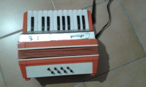 Jouet accordéon enfant neuf années 80