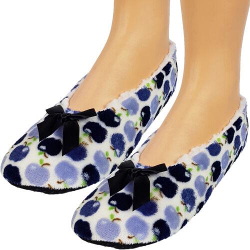 Casa señora zapatos zapatillas Thermo Home socks kuschelhaus zapatos anti-antideslizante
