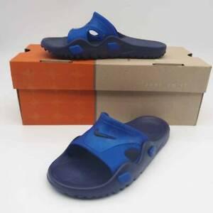 Nike-Kids-JR-Getasandal-Slide-Sandals-Navy-Blue-Midnight-3Y-EUR-35-New