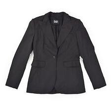 DOLCE & GABBANA Damen Blazer 44 L Schurwolle Sakko Jacke Cardigan Jackett TOP
