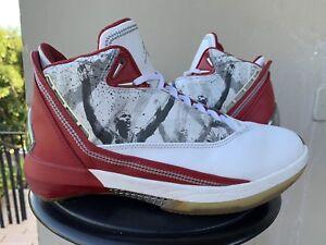 30848e70d548 OG 2007 Nike Air Jordan 22 XXII Omega Size 8 Red White retro xi iv ...