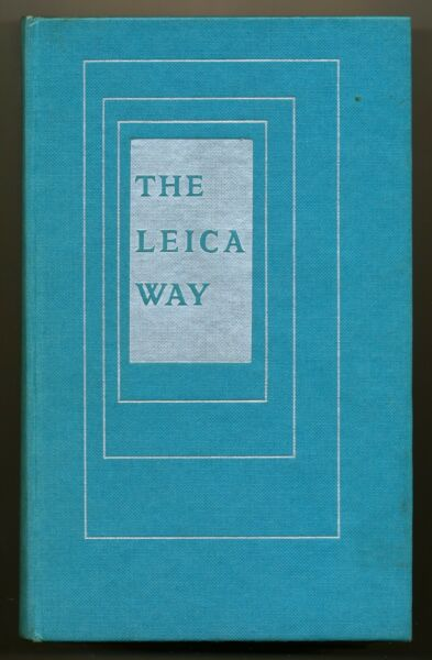 """A.matheson Libro """"the Leica Way"""" 1966 In Inglese Ed.focal Press D535 Bis"""