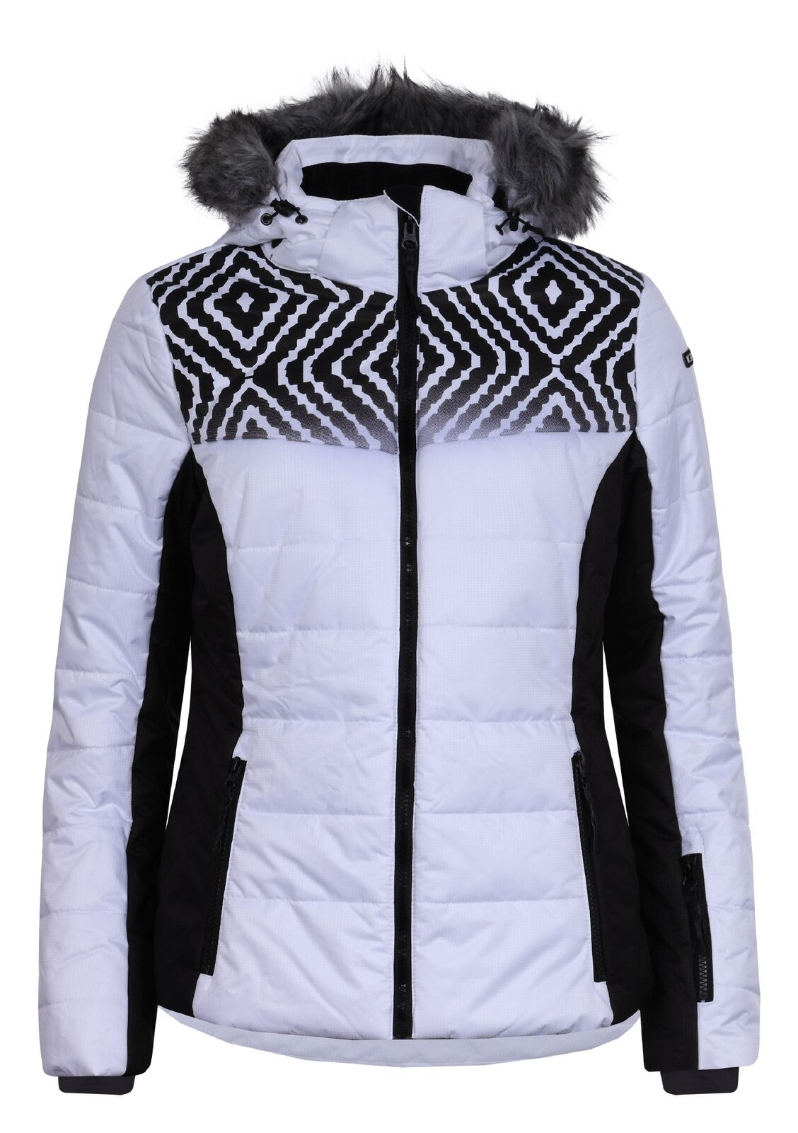 Icepeak VERUCA Damen Skijacke OPTIC Weiß