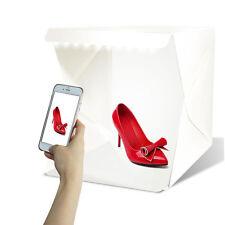 Mini Photo Studio Photography Tent Kit 24cm Backdrop Cube Box Built Light USA CA