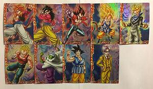 Dragon Ball GT Collection Card Gum Prism Set PART 2 9//9